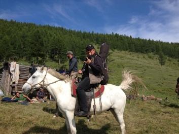 Soriah on tour in Ulug Khem, Tuva