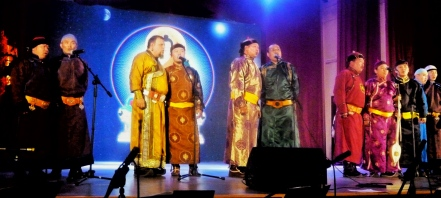 "Singing ""Morguul"" with the Masters of Tuvan Throat Singing, Kyzyl, Tuva"