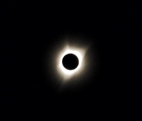The Total Solar Eclipse @ Big Summit Prairie, Oregon